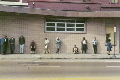 Mario Carnicelli, 'Job Centre Queue, Chicago', 1966