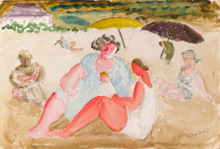 Milton Avery, 'Untitled (Shore Baby)', ca. 1930