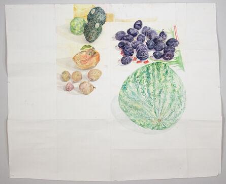 Dawn Clements, 'Fruit', 2015