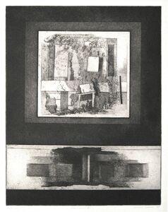 Clinton Adams, 'Window II', 1959
