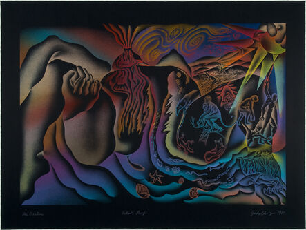 Judy Chicago, 'The Creation', 1985