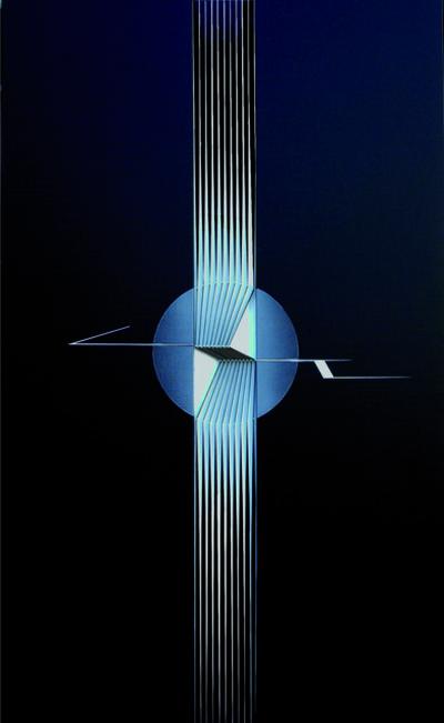 Alberto Biasi, 'Volo di Ritorno', 2006