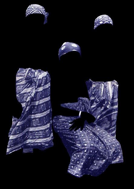 Mbali Dhlamini, 'Untitled (Afrique Occidentale, Jeunes Filles Saussai)', 2017