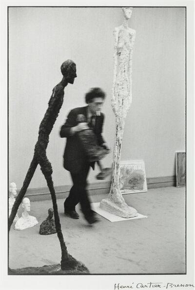Henri Cartier-Bresson, 'Alberto Giacometti', 1961