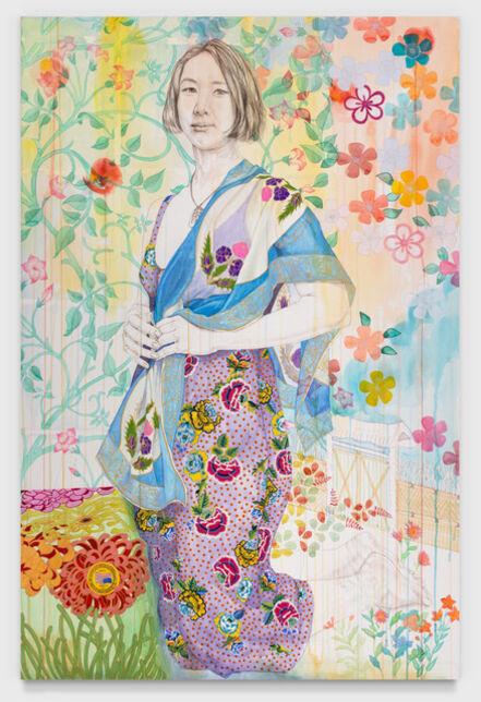 Kira Nam Greene, 'Japanese Garden (Valery) ', 2020