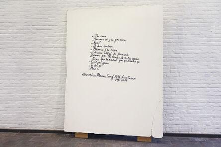 Mekhitar Garabedian, 'J'ai envie (Lise et Alex), from Mauvais Sang (1986)', 2014