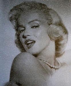David Studwell, 'Marilyn Monroe, Smokey Blue', 2017-2019