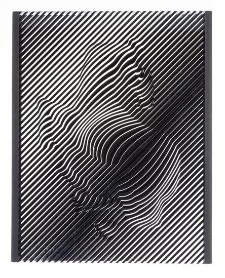Victor Vasarely, 'Zebra', circa 1980-1989