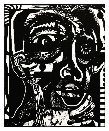 Adrian Edward Spurr, 'Portrait of paranoia.', 2020