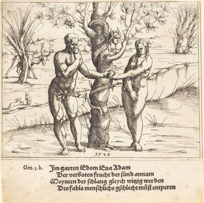 Augustin Hirschvogel, 'The Fall of Man', 1548