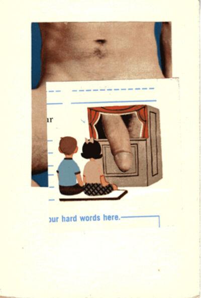Joe Brainard, 'Untitled (out hard words here)', ca. 1975