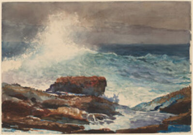 Winslow Homer, 'Incoming Tide, Scarboro, Maine', 1883