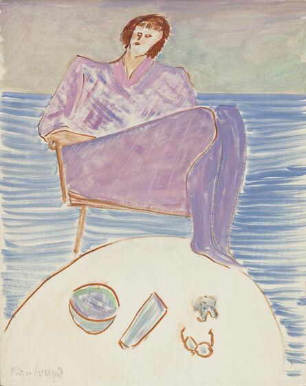 Milton Avery, 'Lavender Girl', 1963