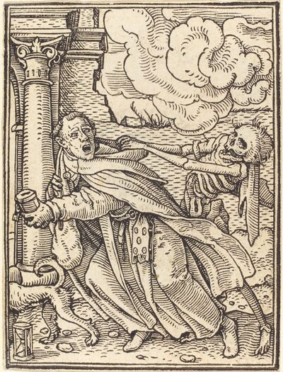 Hans Holbein the Younger, 'Mendicant Friar'