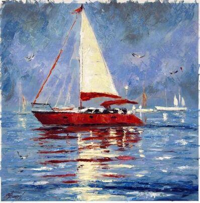 Elena Bond, 'Solitary Sail III', N/A