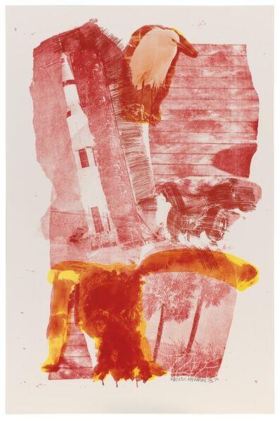 Robert Rauschenberg, 'Hybrid (Stoned Moon)', 1970