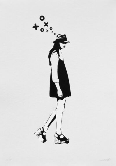 XOOOOX, 'Walking Lady (First Edition of the artist)', 2018