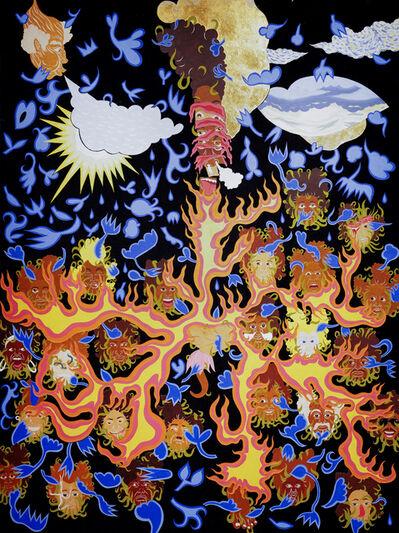 William Villalongo, 'Earth, Wind and Fire', 2005