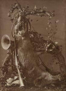 Adolphe Braun, 'Still Life of a Hunting Scene', 1867