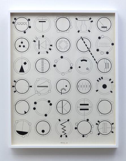 Manfred Mohr, 'Bild-1967 Zeichnung A', 1967