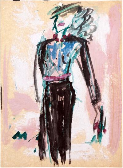 Elvira Bach, 'Dance', 1980