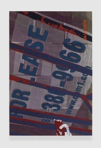 Brendan Fowler, 'For Lease Sign on Place', 2014