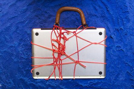 Jillian Mayer, 'Homemade Laptop Case (pink)', 2013