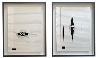 Javier Calleja, 'Between the Lines (Set of 2)', 2016