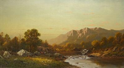 Charles Knapp, 'Landscape with Fishermen', 19th Century