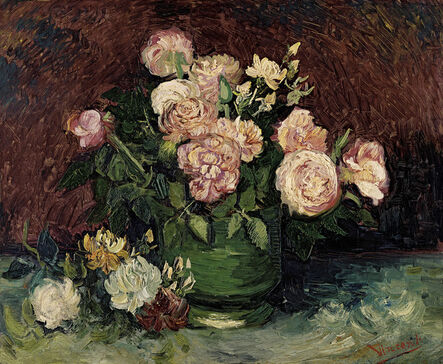 Vincent van Gogh, 'Roses and Peonies', 1886