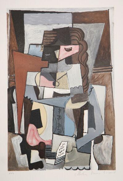 Pablo Picasso, 'Femme au Corset Tesant un Livre, 1914', 1979-1982