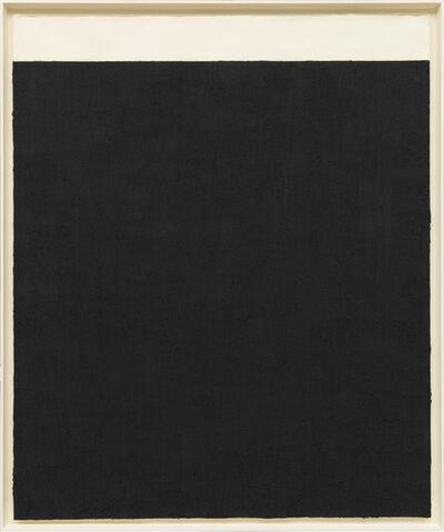 Richard Serra, 'Elevational Weights, Black Matter', 2010