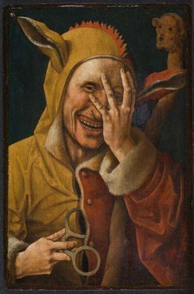 Jacob Cornelisz van Oostsanen, 'Laughing Fool', ca. 1500