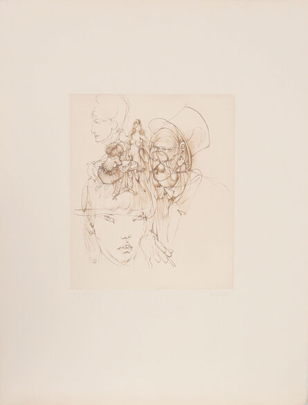 Hans Bellmer, 'Untitled 3', ca. 1972