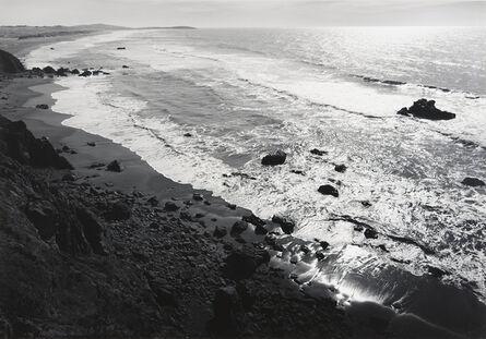 Ansel Adams, 'Shore, South of Timber Cove', ca. 1960