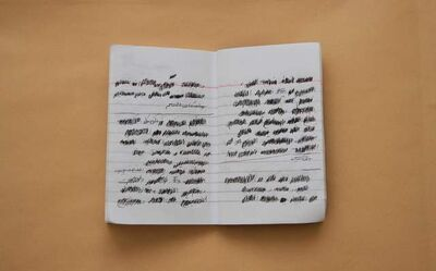 Ahmed Kamel, 'Remnants of Diaries', 2016