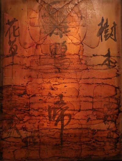 Frog King 蛙王, 'Fire Painting, Farm', 1976