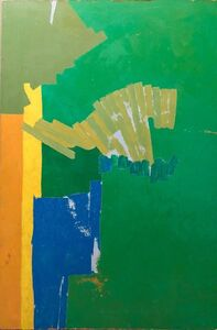 Fred Wilson, 'Untitled American Color Field Abstract Painting', 20th Century