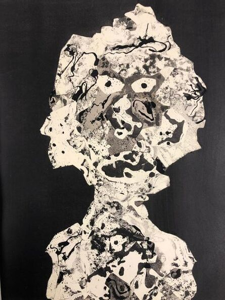 Jean Dubuffet, 'Personnage 1955 I', 1956