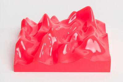 Peter Saville, 'Unknown Pleasure, Fluro Orange', 2015