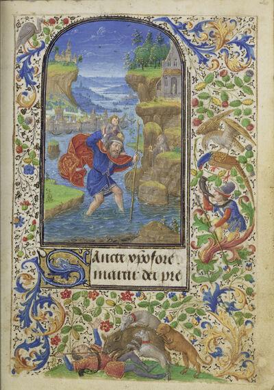 Lievan van Lathem, 'Saint Christopher', 1469