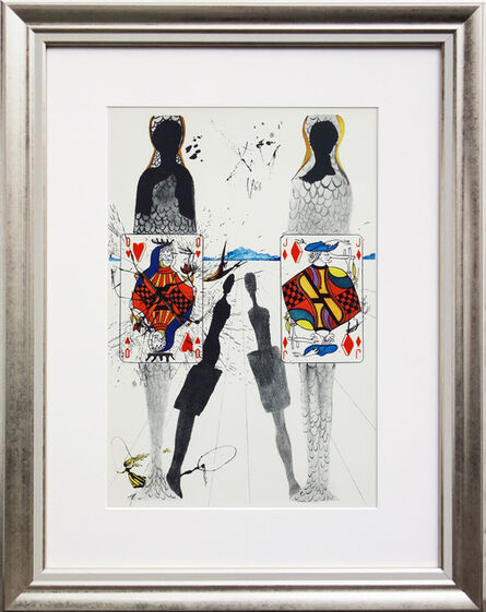 Salvador Dalí, 'Alice in Wonderland No. 8 - The Queen's Croquet Ground', 1969
