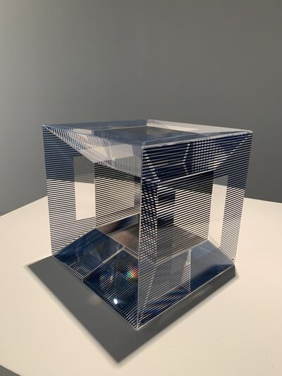 Jesús Rafael Soto, 'Cube with ambiguous space', 1981
