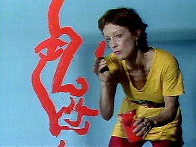 Joan Jonas, 'Double Lunar Dogs', 1984