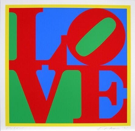 Robert Indiana, 'Heliotherapy Love', 1995