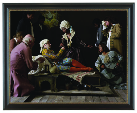 Yinka Shonibare, 'Fake Death Picture (The Death of St Francis – Bartolomé Carducho)', 2011