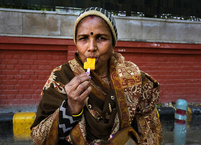 Neil O. Lawner, 'Portrait #3 India', 2020