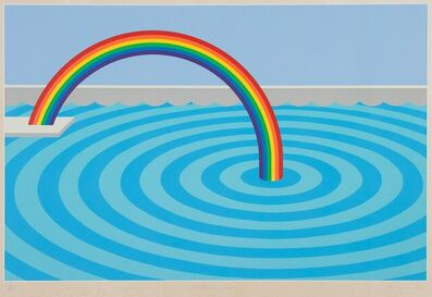 Patrick Hughes, 'Splash of Colour', 1982