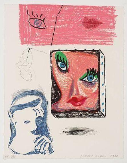 David Hockney, 'An Image of Celia', 1986