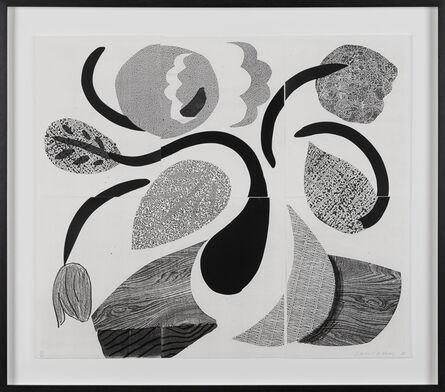 David Hockney, 'Dancing Flowers', 1986